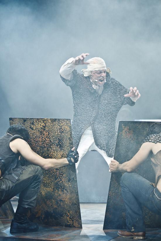 Der Mann von La Mancha, Regie: Nicole Claudia Weber, Foto: Werner Kmetitsch