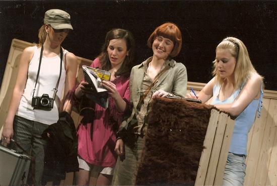 Finnisch für Frauen, Regie: Nicole Claudia Weber, Foto: Tine Edel