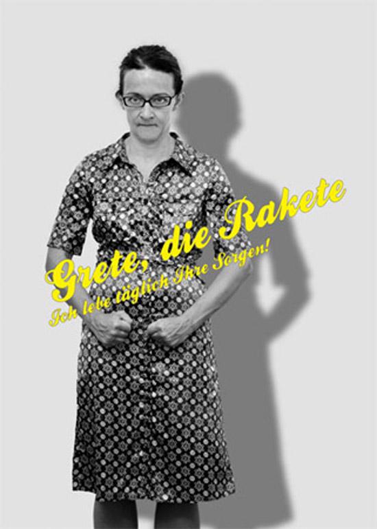 Grete die Rakete, Regie: Nicole Claudia Weber, Foto: Helge Bauer