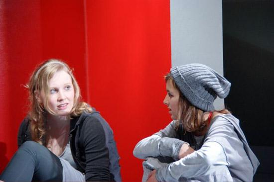 Unterm Herzen, Regie: Nicole Claudia Weber, Foto: Helge Bauer