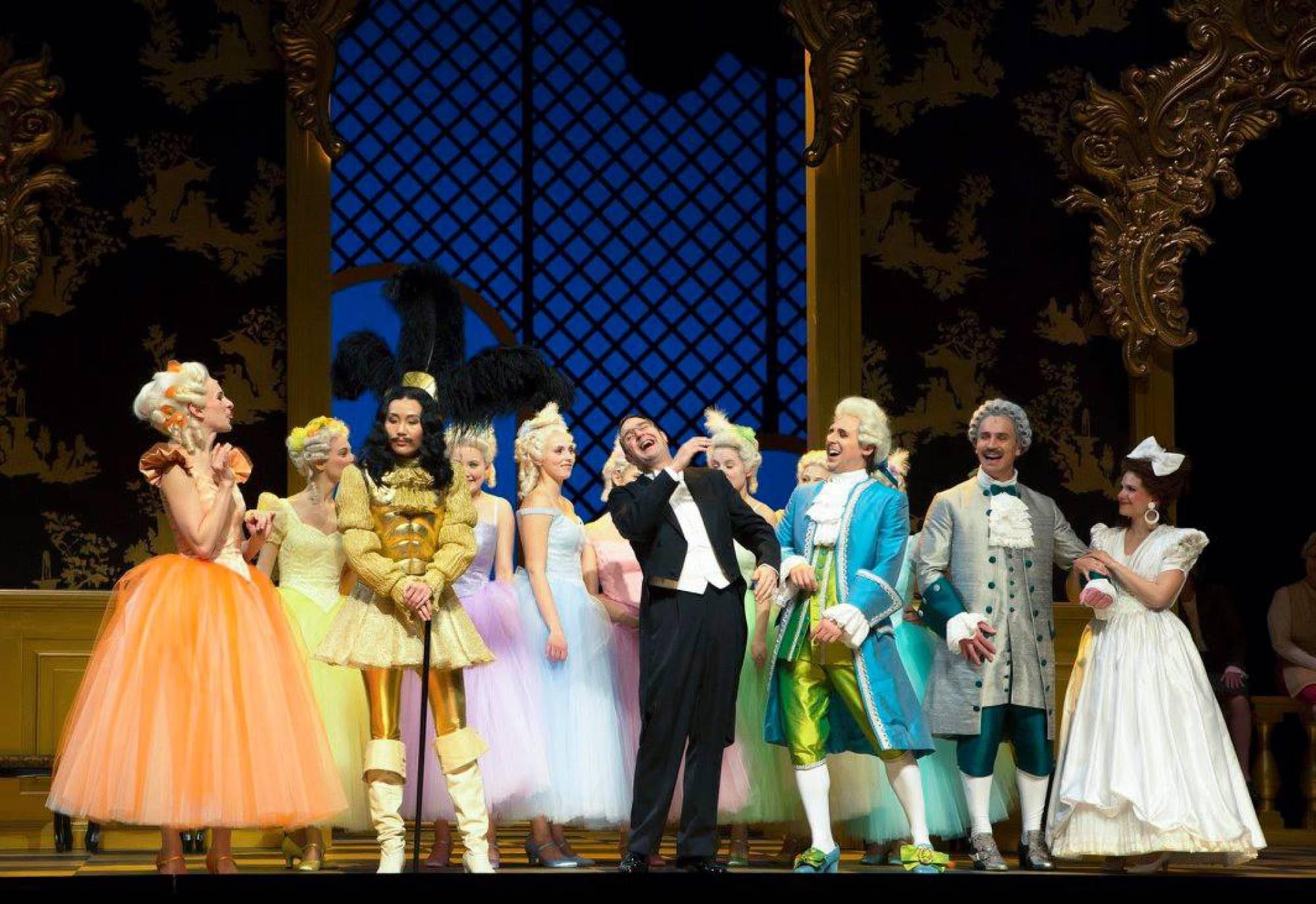 Die Fledermaus, Regie: Nicole Claudia Weber, Foto: Martina Pipprich