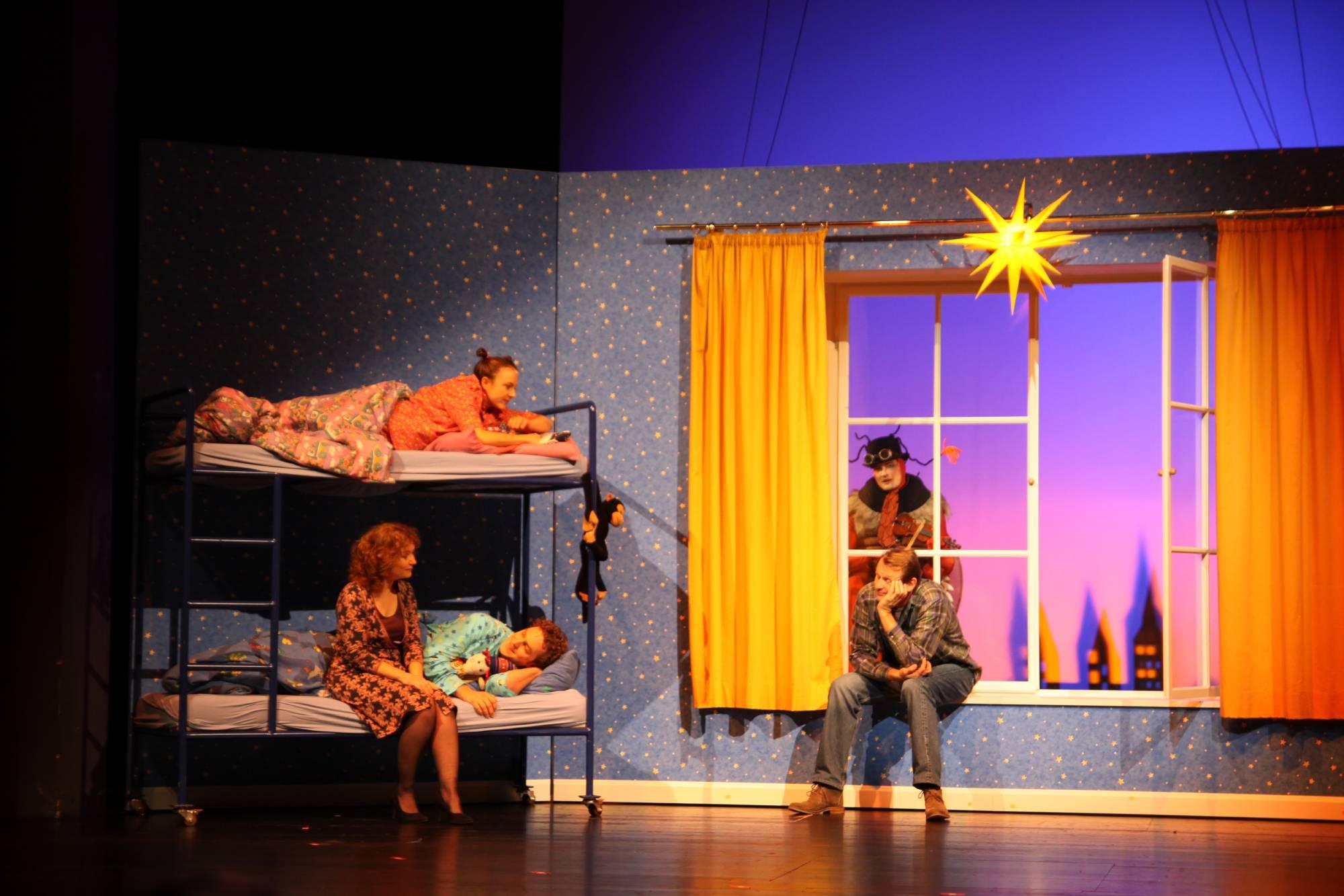 Peterchens Mondfahrt, Regie: Nicole Claudia Weber, Foto: Tanja Hofmann