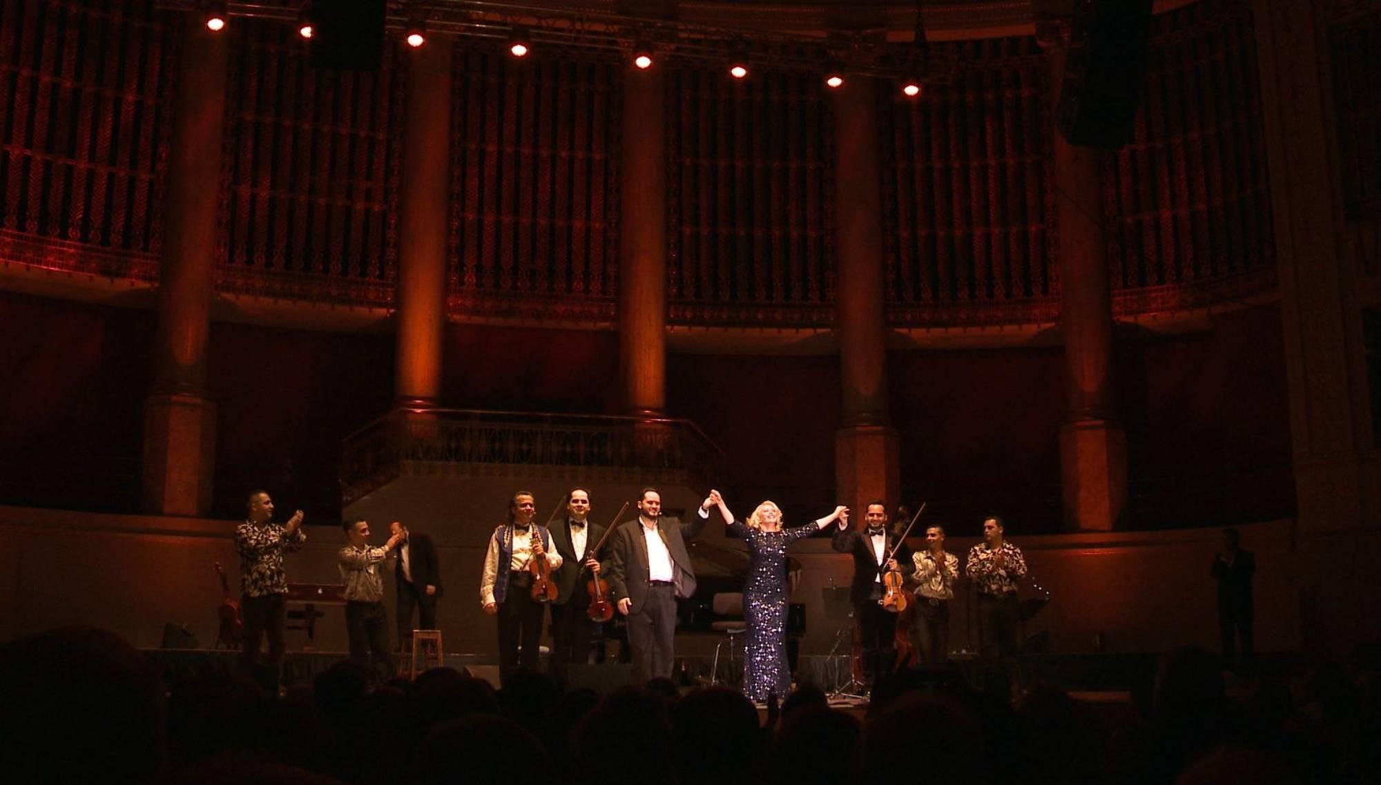 Silvestergala 2017/18, Janoska Ensemble, Wiener Konzerthaus, Regie: Nicole Claudia Weber, Foto: Florian Petermann