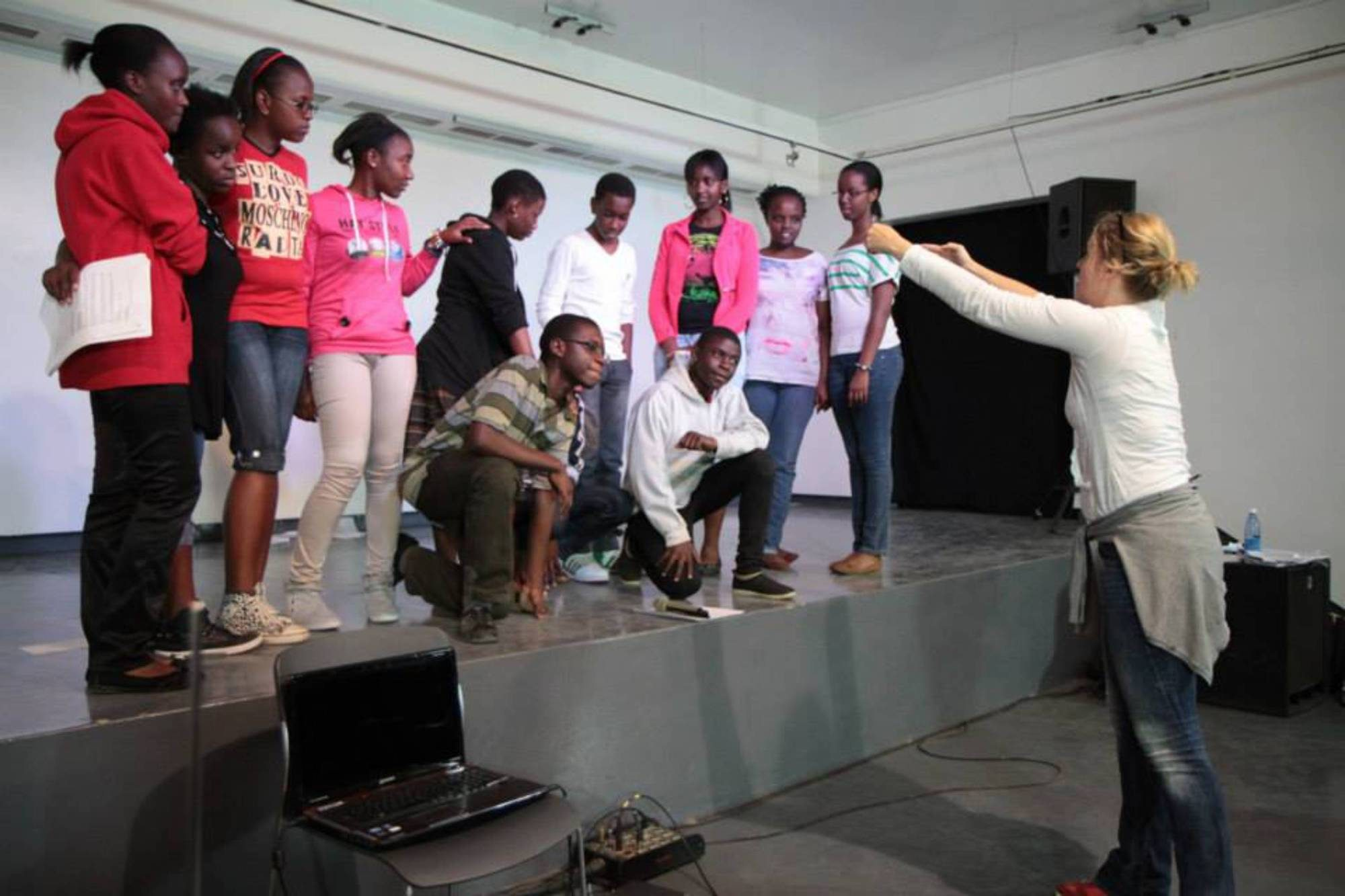Theater Projekt, Goethe Institut Kenia, Foto: Amadeus Hiller