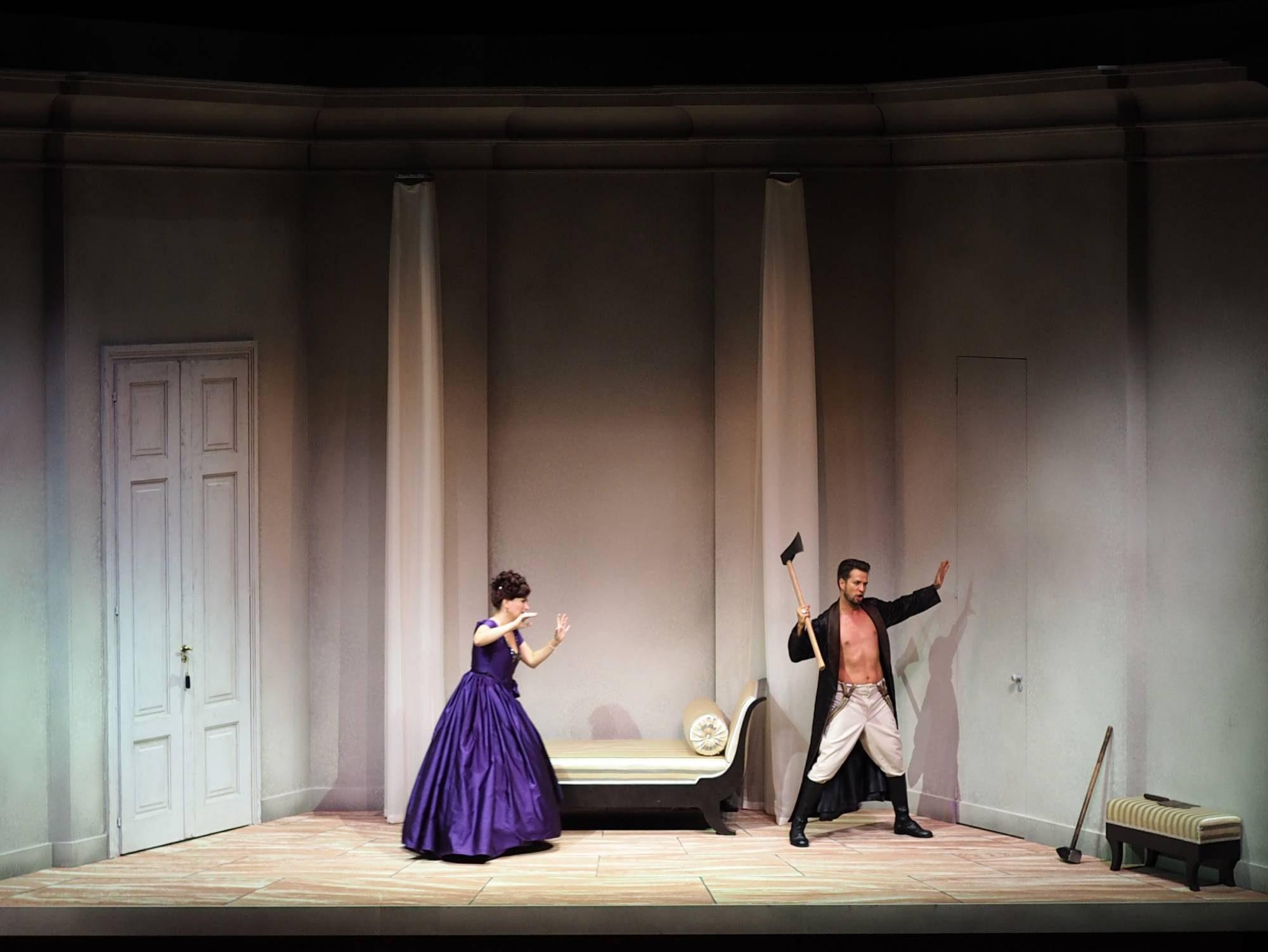 Le nozze di Figaro, Regie: Nicole Claudia Weber, Foto: stagedesign