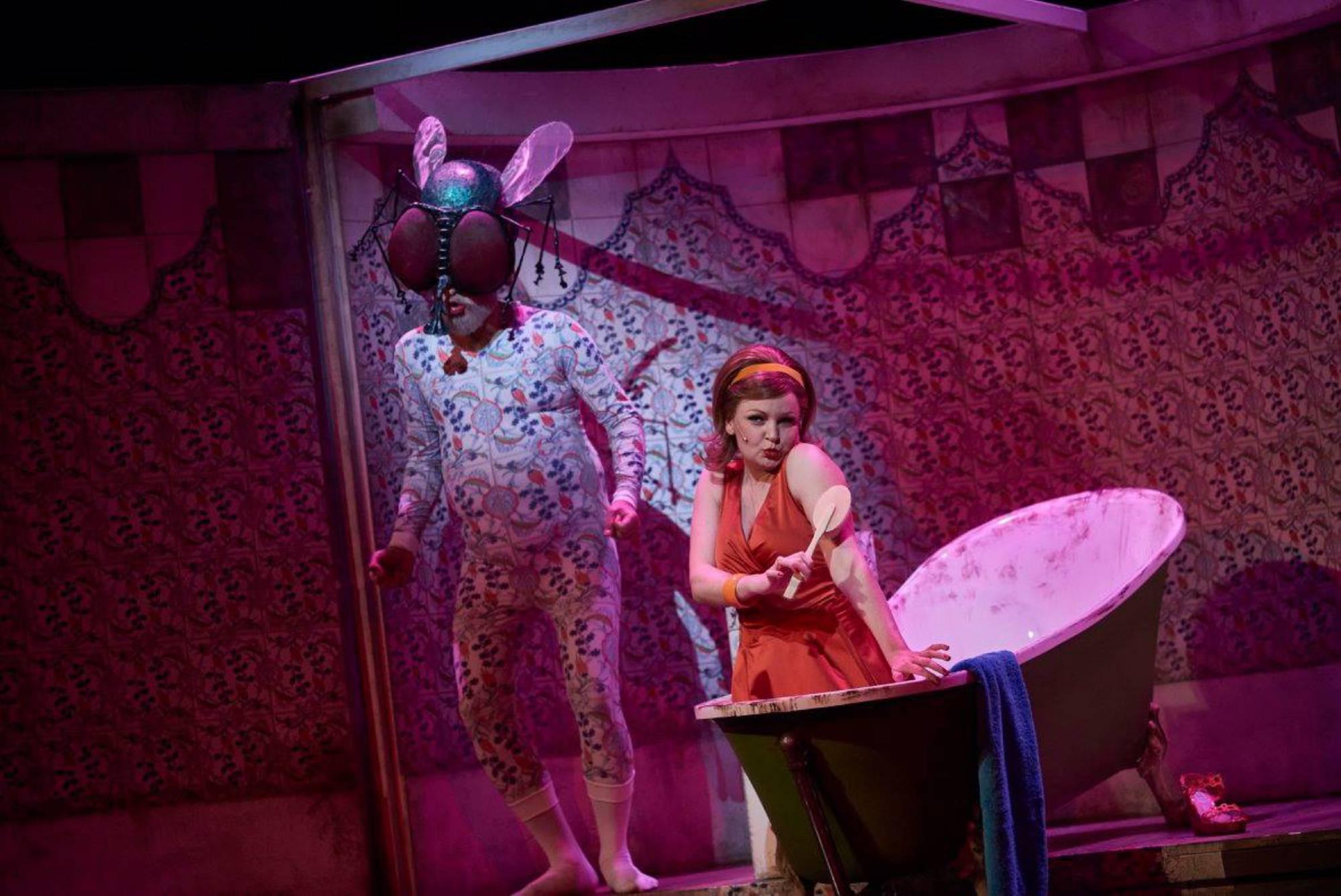 Orpheus in der Unterwelt, Regie: Nicole Claudia Weber, Foto: Martin Sigmund