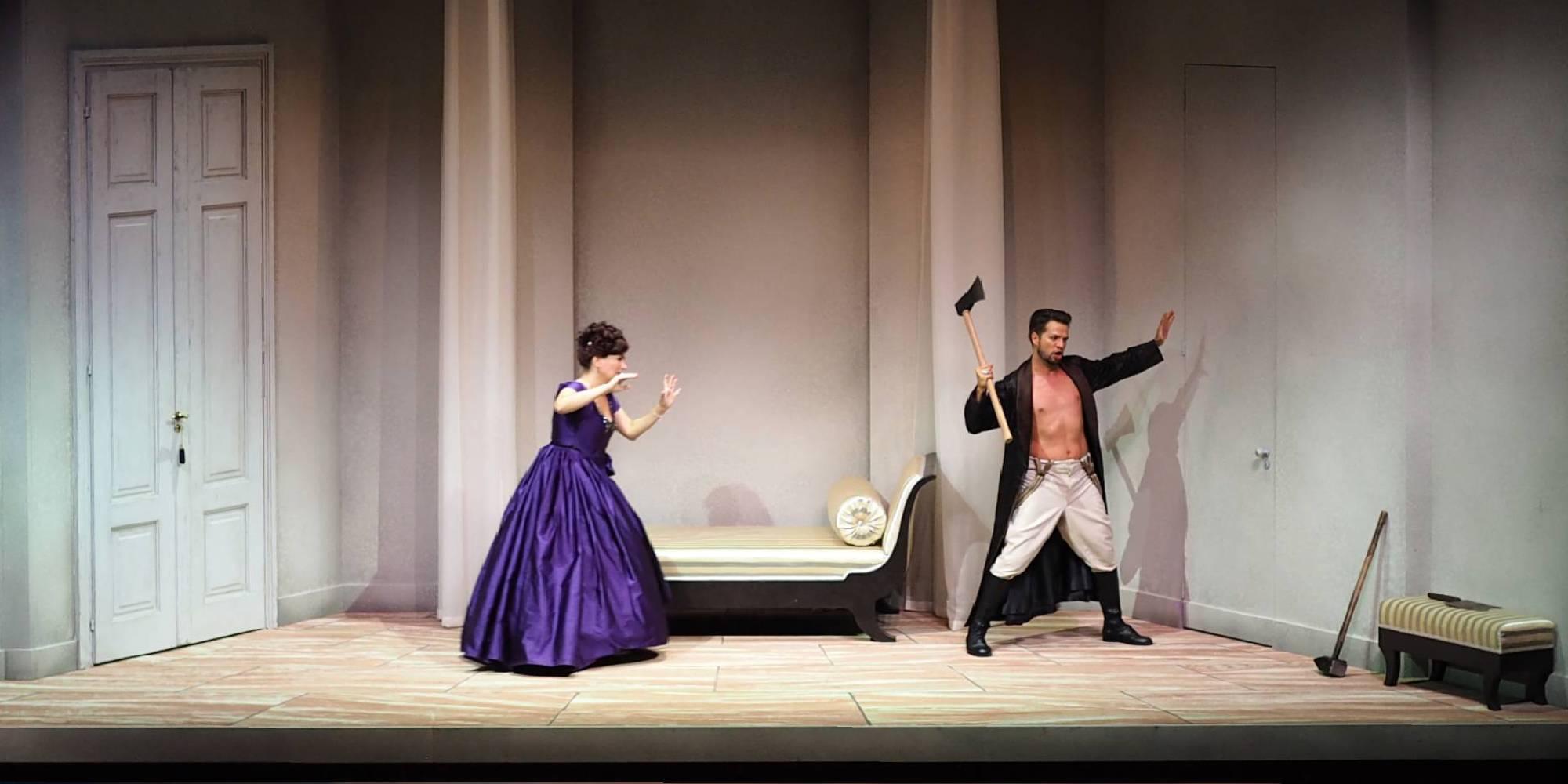 Le nozze di Figaro, Regie: Nicole Claudia Weber, Foto: Andreas Etter