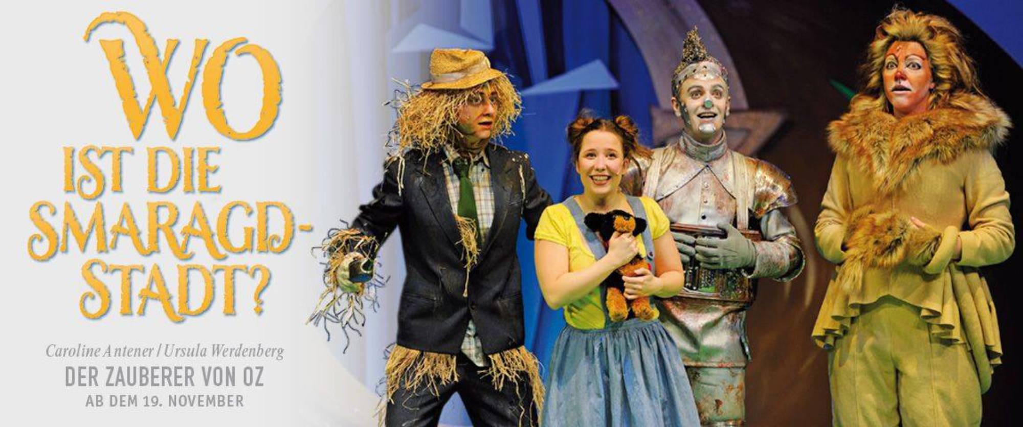 Der Zauberer von Oz, Regie: Nicole Claudia Weber, Foto: Martin Kaufhold