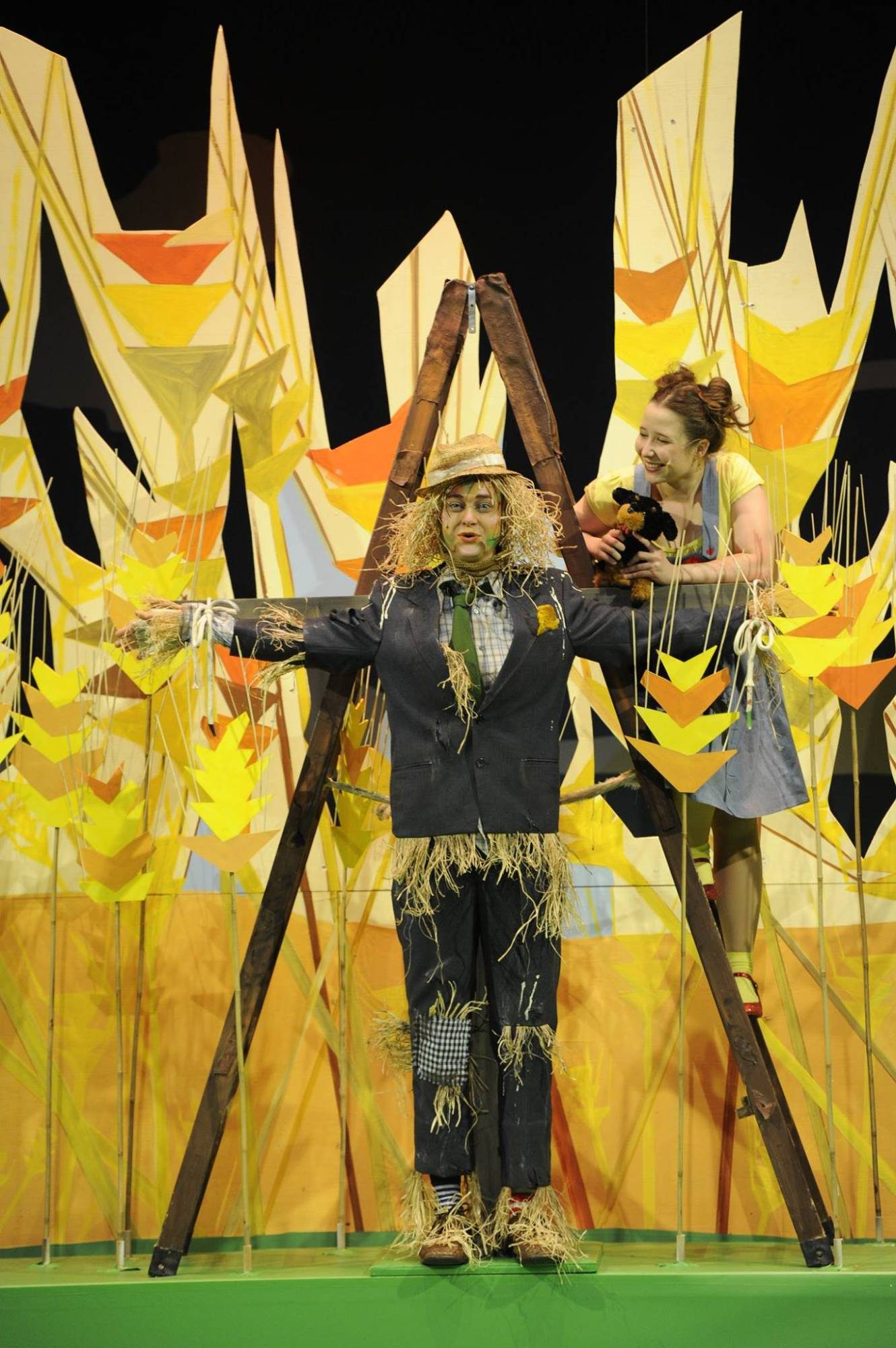 zauberer von oz. Regie: Nicole Claudia Weber, Foto: Martin Kaufhold