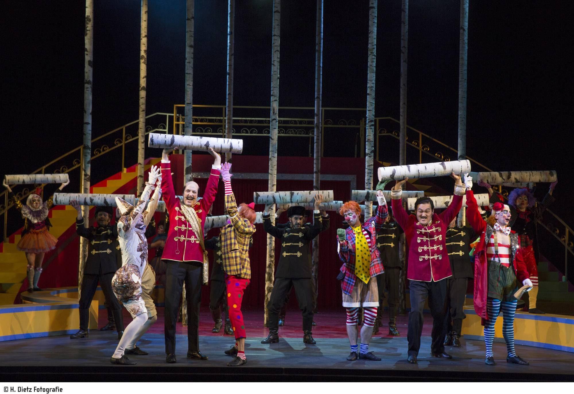 die Zirkusprinzessin, Regie: Nicole Claudia Weber; Foto: H. Dietz